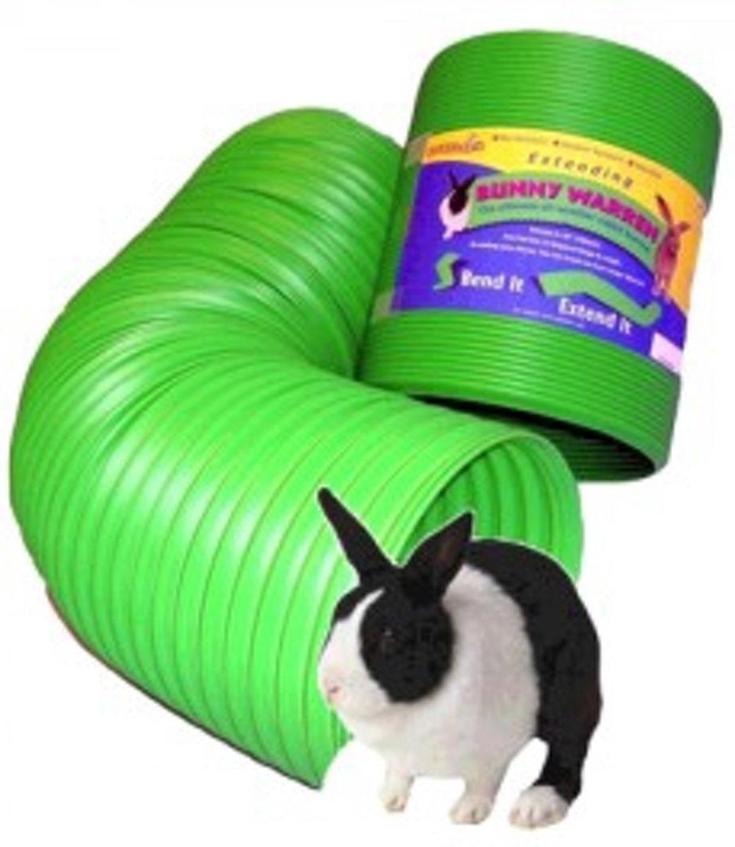 Snugglesafe Bunny Warren konijnentunnel