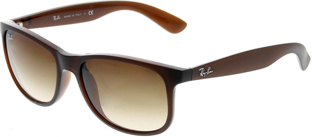 Ray-Ban RB4202 607313 - Andy - zonnebril - Bruin / Bruin Gradiënt - 55mm kopen