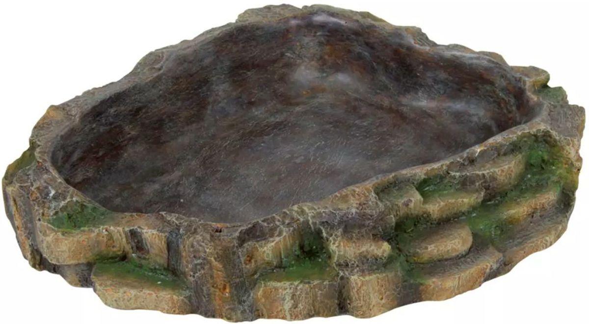 TRIXIE Reptielendrink- en voerbak 24x20 cm polyesterhars 76205