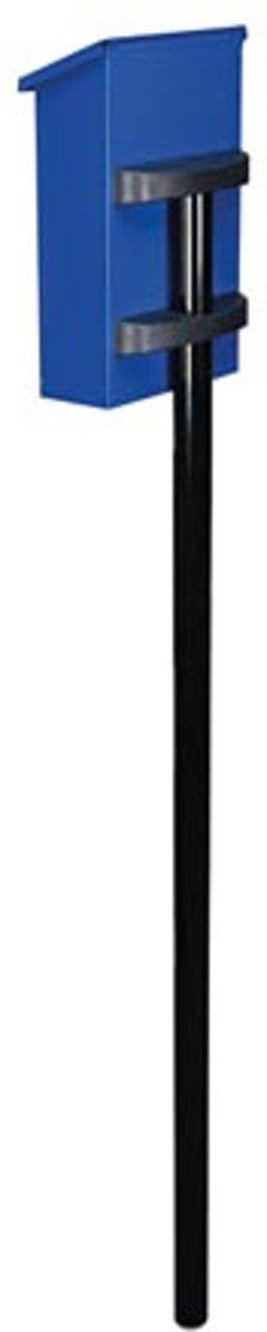 Brievenbuspaal - Zwart