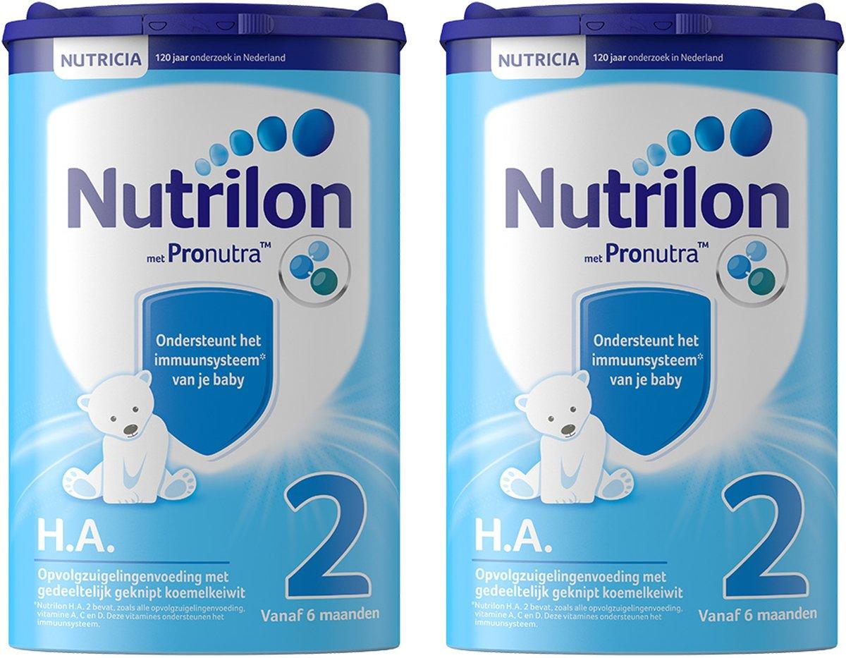 Nutrilon H.A. met Pronutra - Flesvoeding - 2 x 750 gram kopen