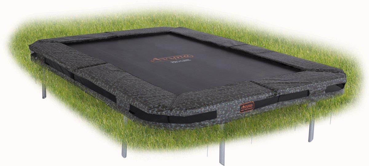 Avyna PRO-LINE InGround trampoline 238 (380x255) Camouflage