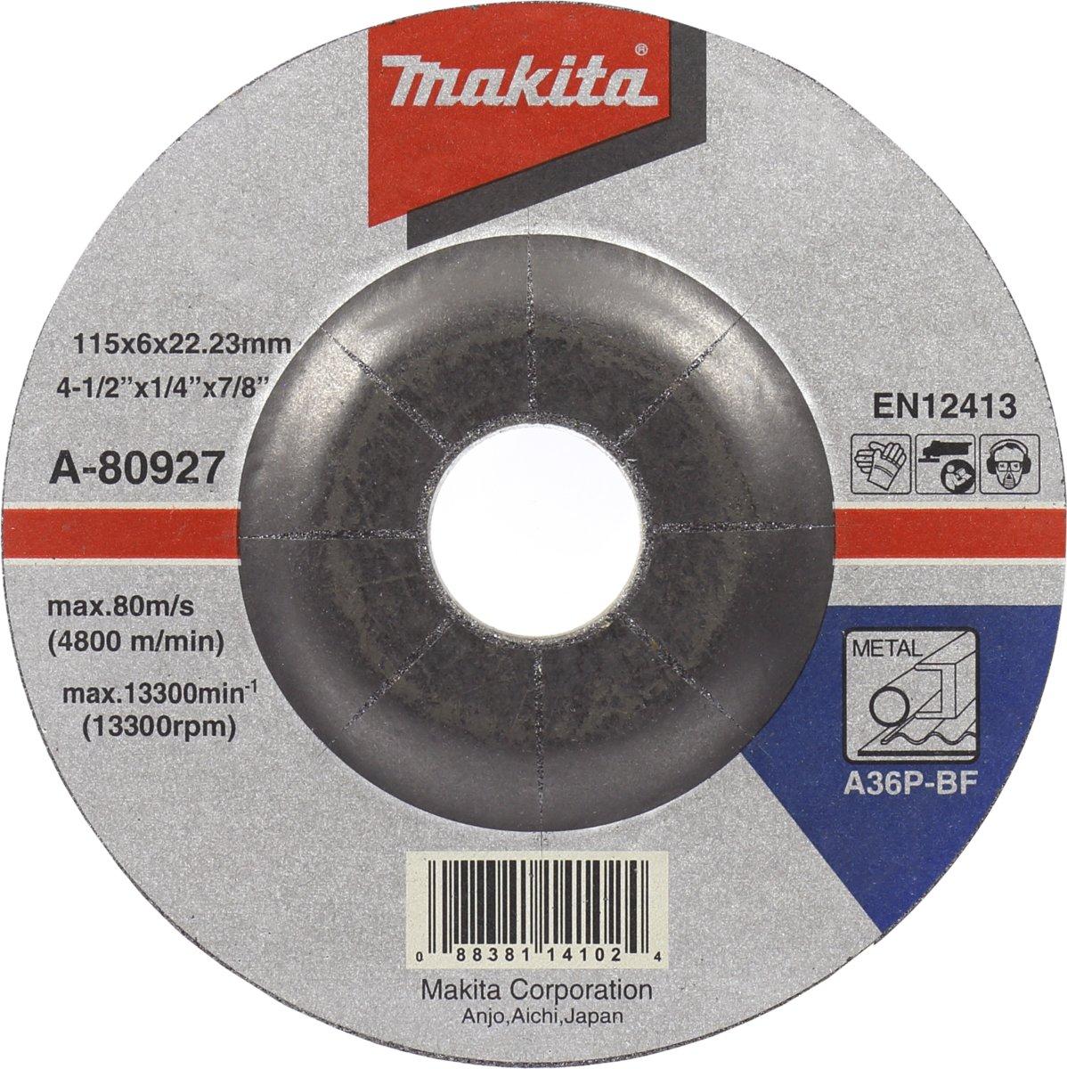 Makita A-80949 Afbraamschijf 180x6,0mm metaal kopen