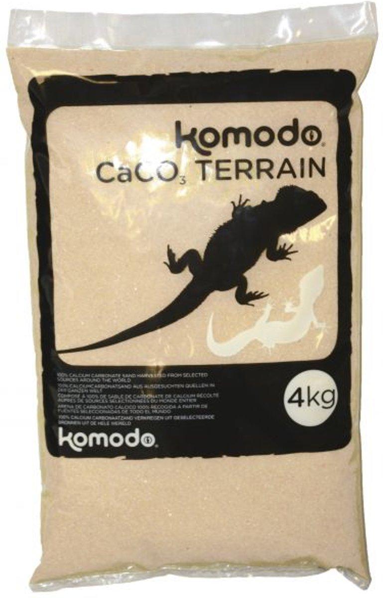 Komodo Caco Zand - Wit - 4 kg