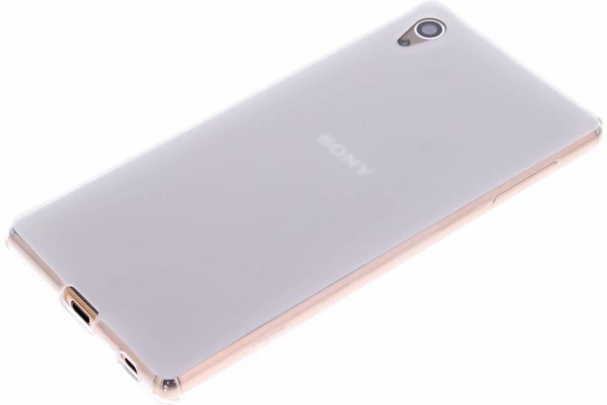 Dur Étui En Silicone Transparent Pour Les Z3 Xperia Sony Et xU2IiK