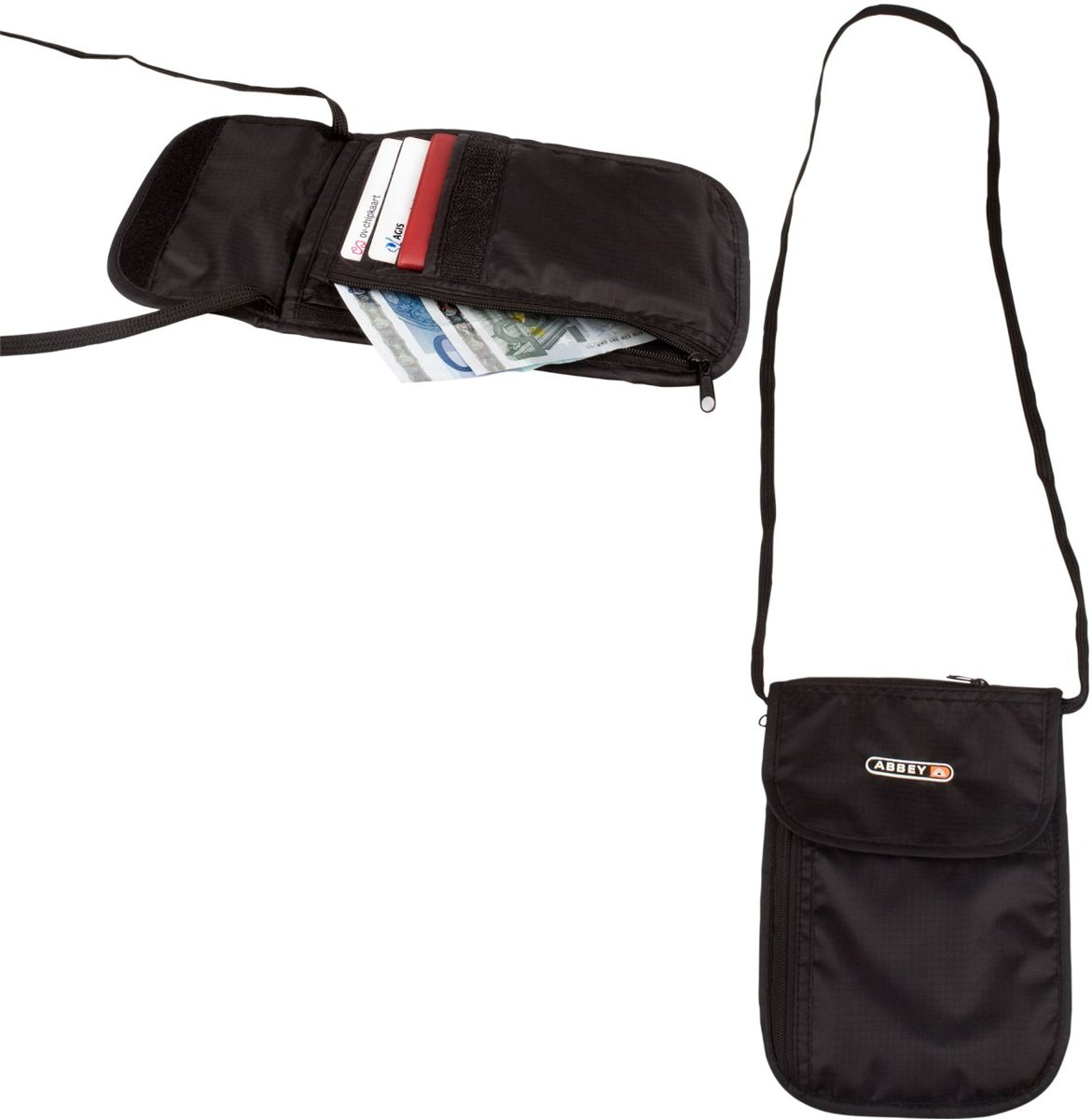 Reisportemonnee onder kleding