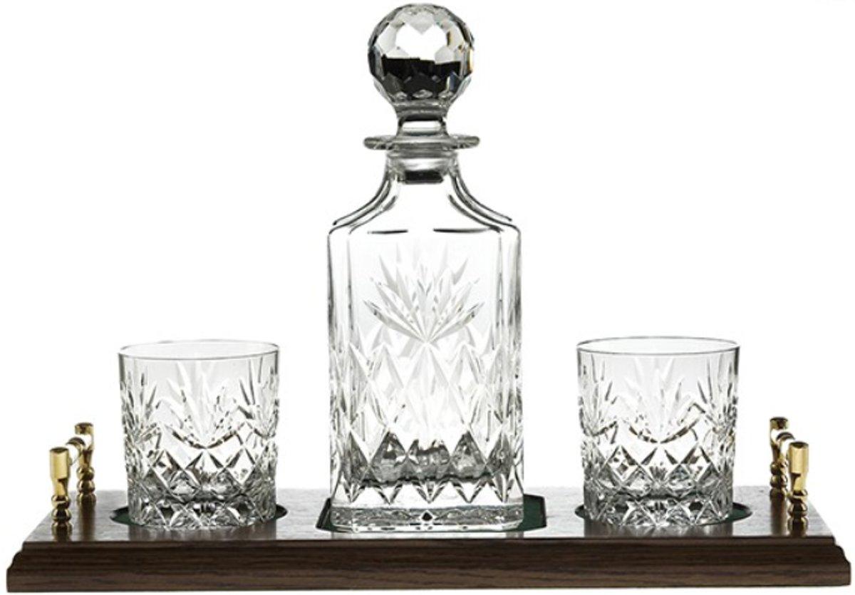 Royal Scot Crystal Kintyre luxe whisky set met tray kopen