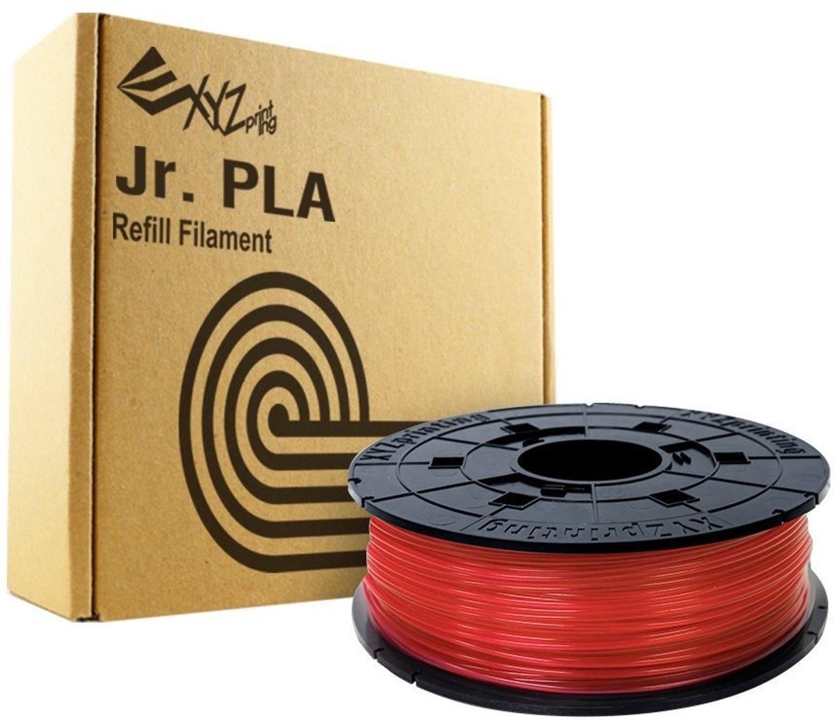 XYZprinting RFPLCXEU02A Polymelkzuur Rood 600g 3D-printmateriaal