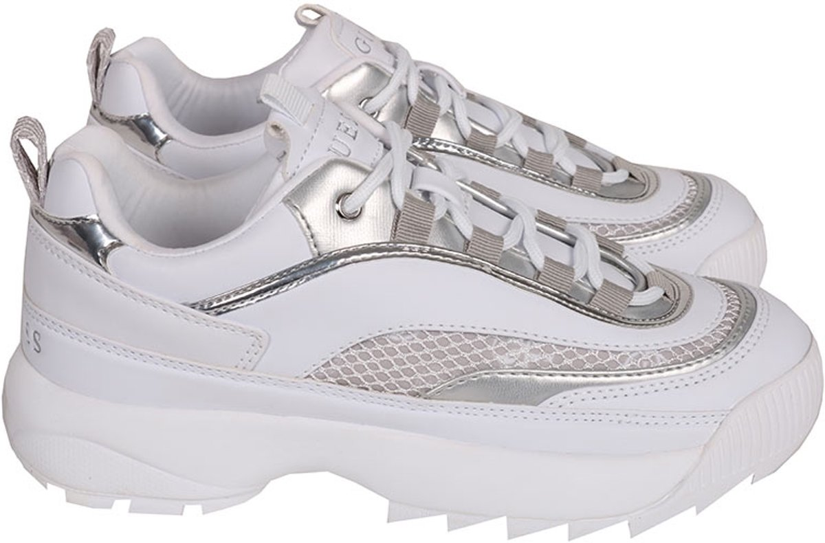 GUESS Kaysie5Active LadyLeather Li Dames Sneakers Wit Maat 37