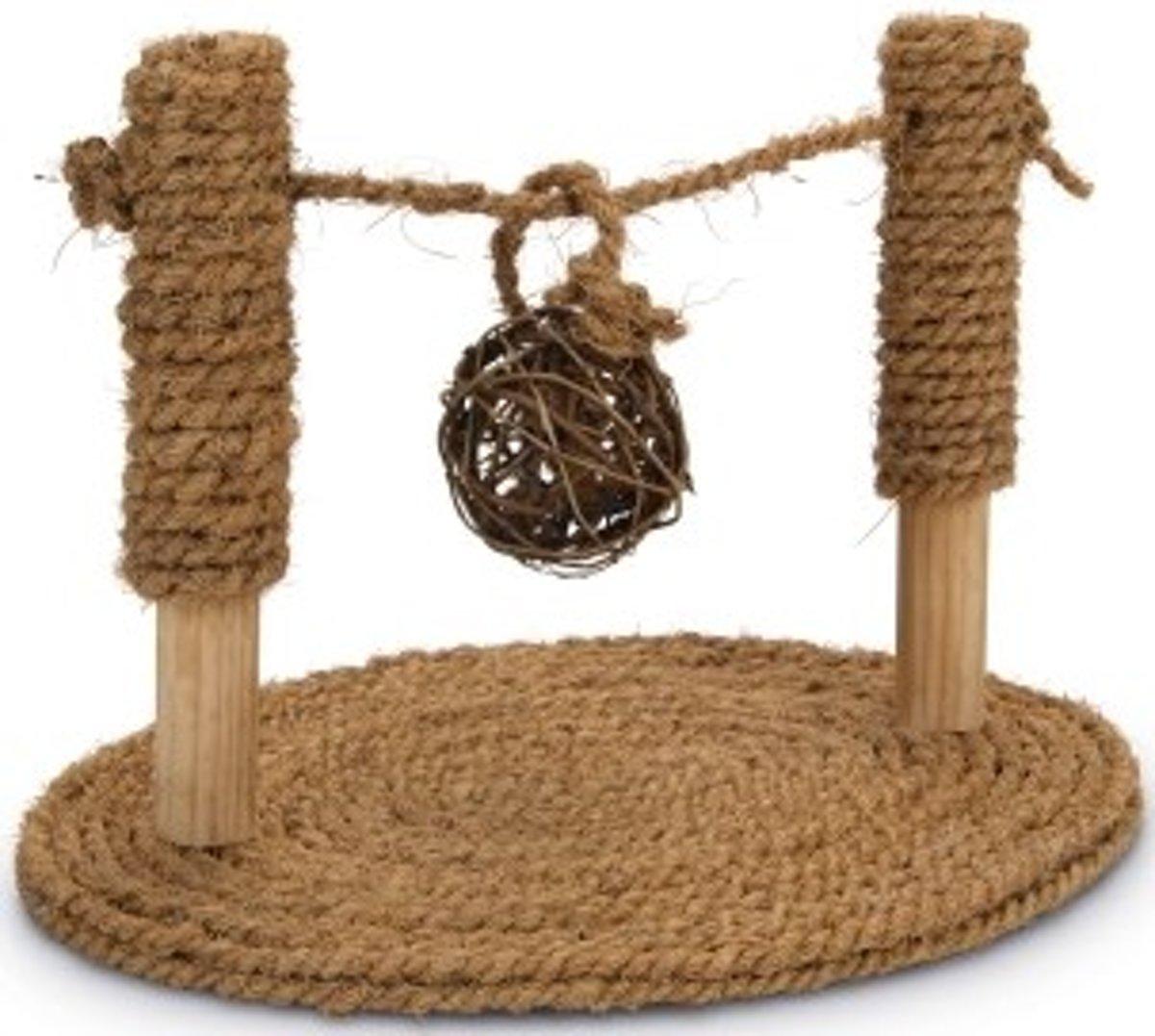 Beeztees knaagdierspeelgoed Coconut Rope speelbrug