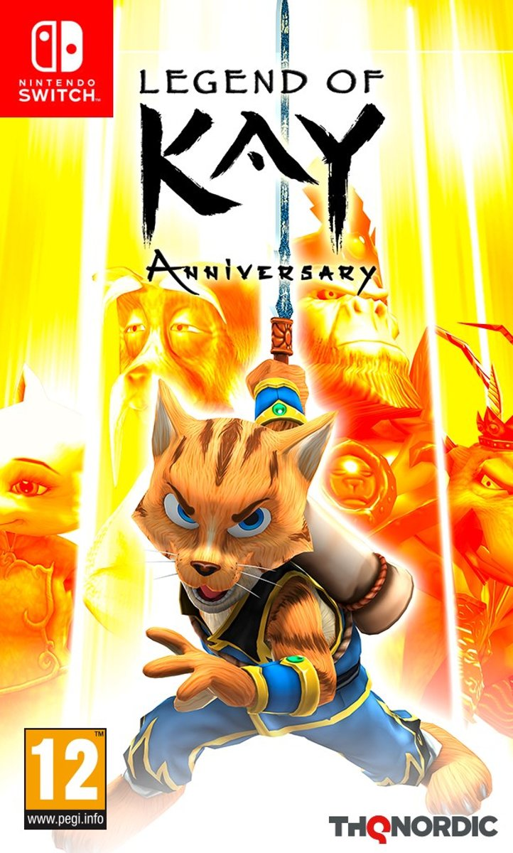 Legend of Kay: Anniversary Switch
