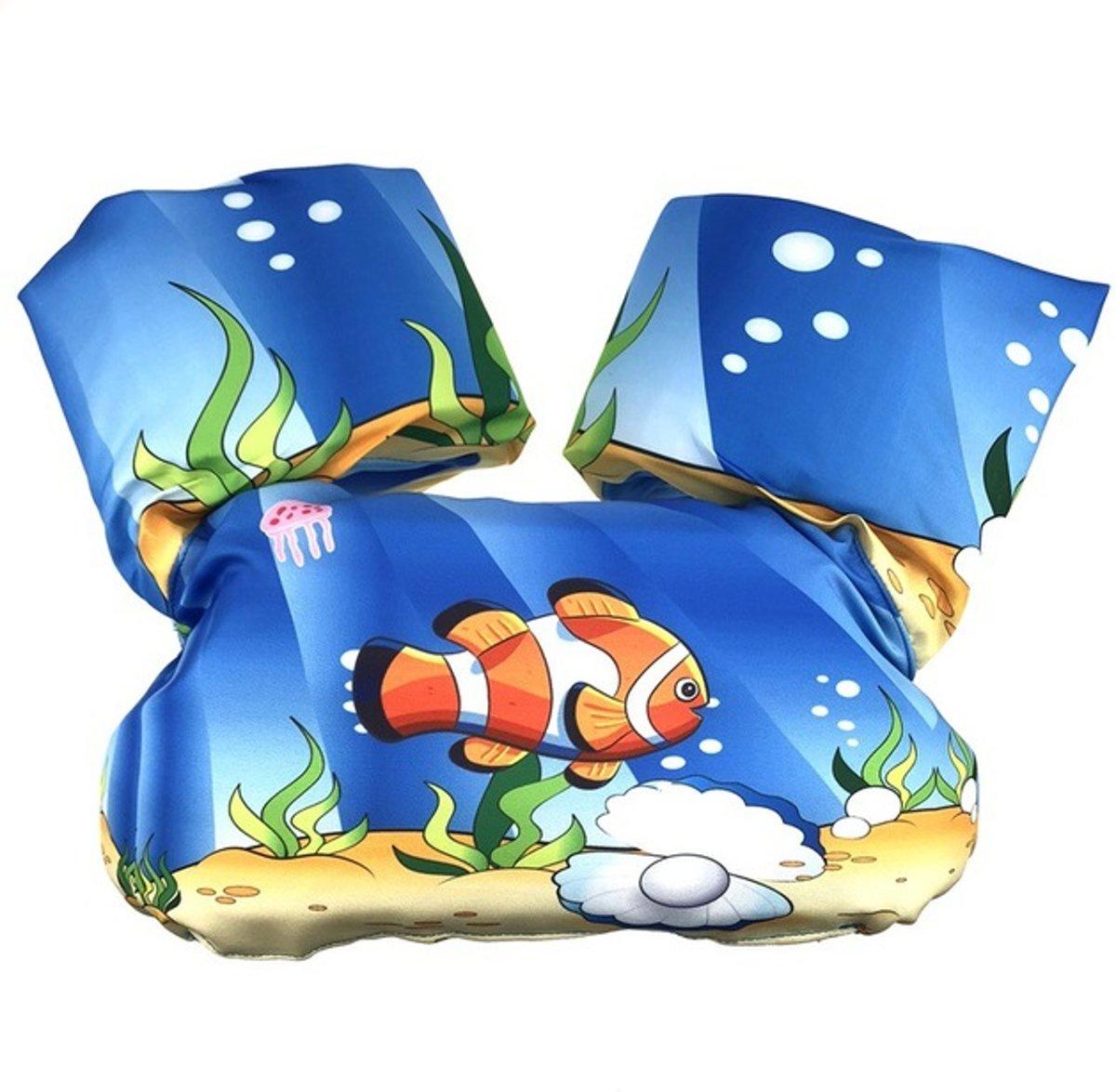 Zwemvest - Clownvis Design - One Size - Kind - 14-30 KG - 3-7 Jaar