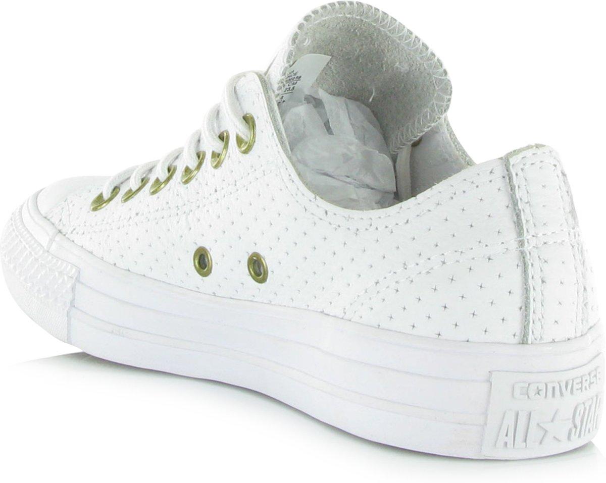 50551f94342 bol.com | Converse All Star Craft Leather OX Wit