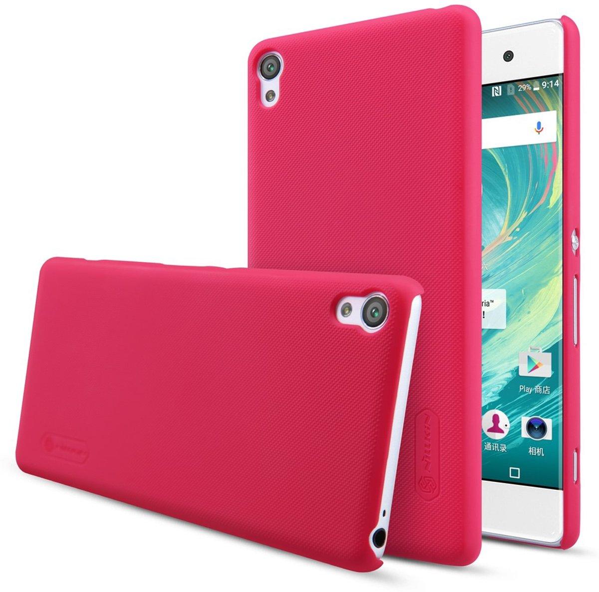 cran Dépoli Rouge Couverture Étui Rigide Pour Sony Xperia Xa1 3YchHgg6