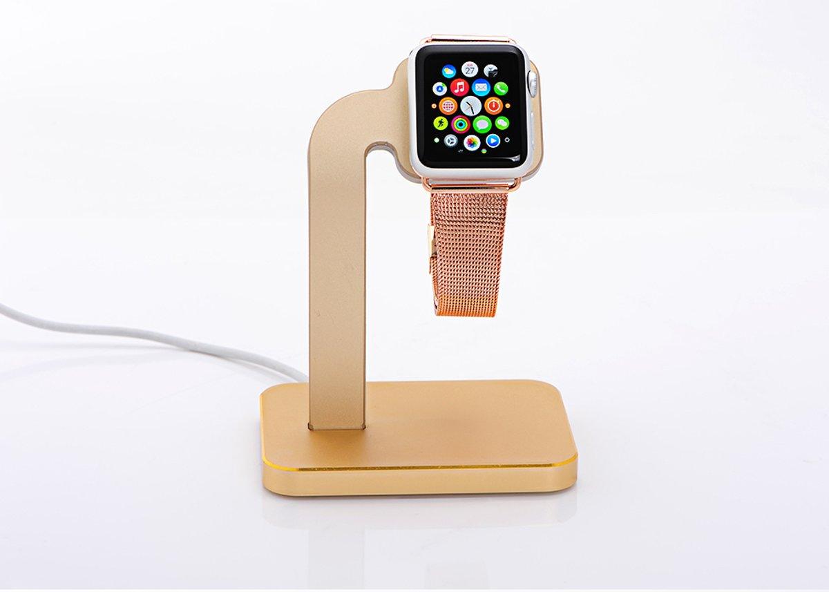 Aluminum Base Stand Apple Watch Series 1 / Series 2 / Series 3 (38mm en 42mm) - Goud kopen