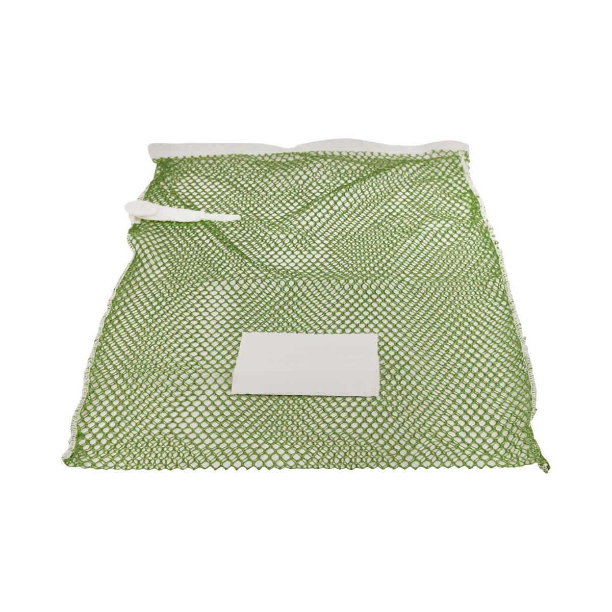 Premium wasnet 40x60 cm - Met knoopsluiting - Groen kopen