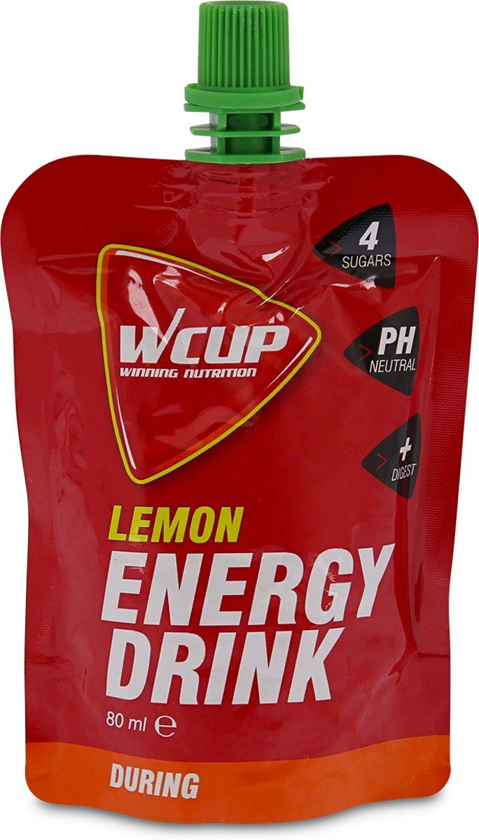 10x WCUP Energy Drink Lemon 80ml kopen
