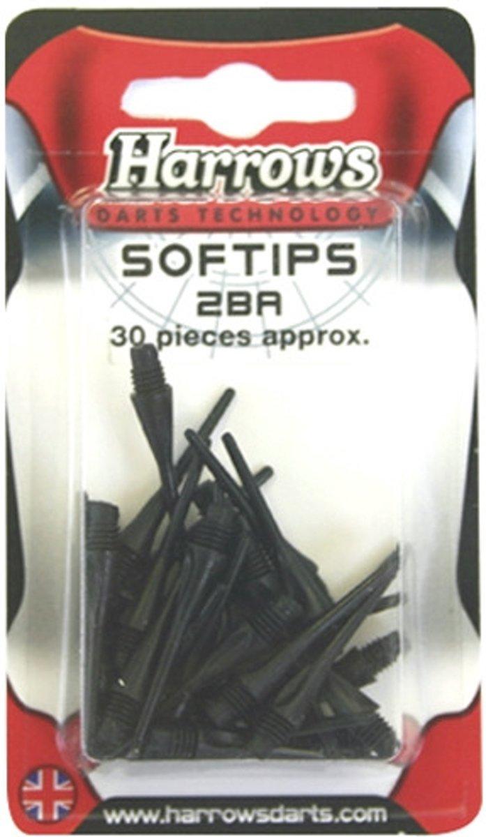 Harrows Softip Reservepunten 2BA 26mm 30 Stuks - Wit kopen