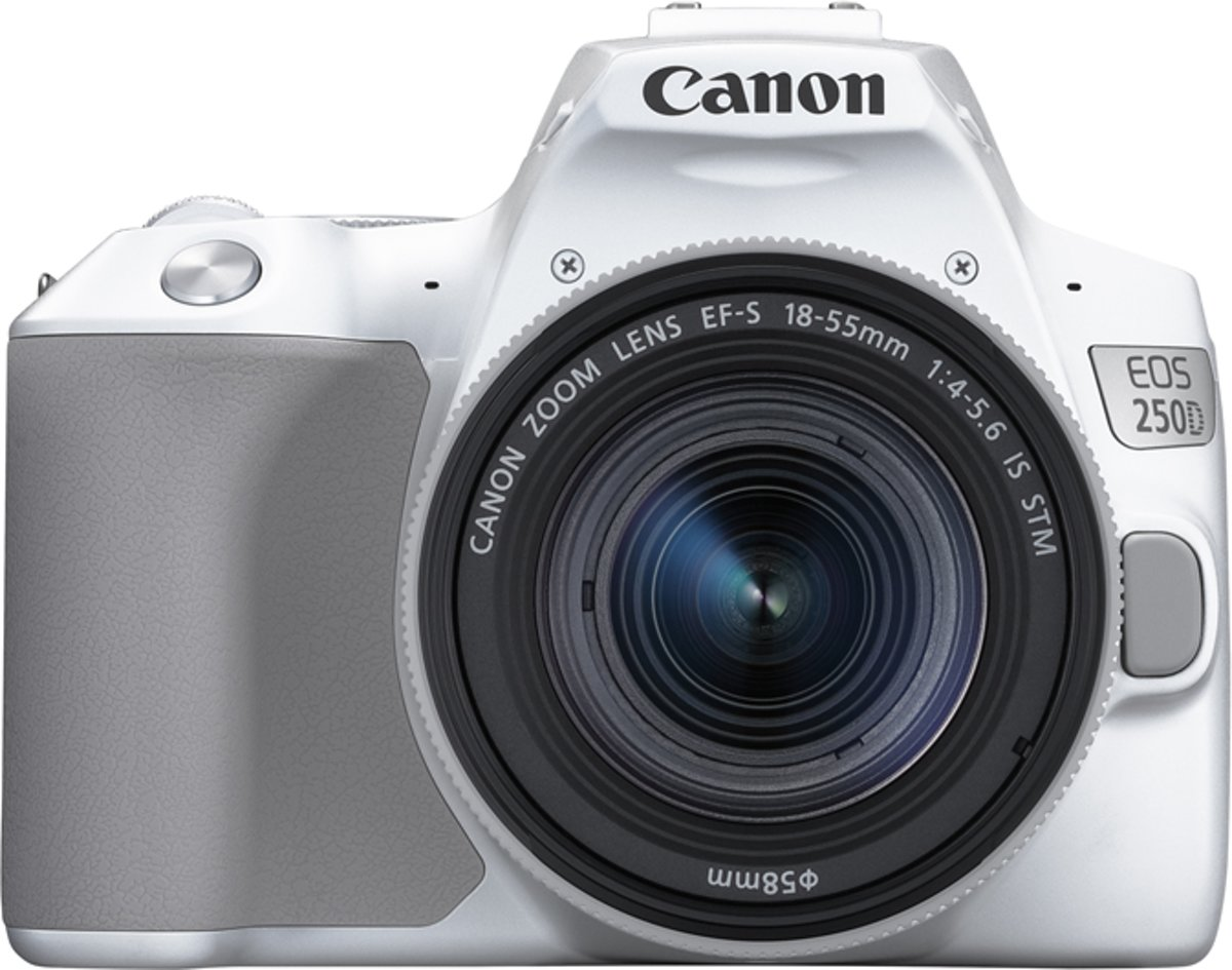 Canon EOS 250D + EF-S 18-55mm IS STM - Wit