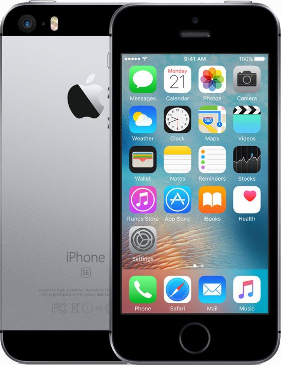 Apple iPhone SE - 128 GB - Spacegrijs kopen
