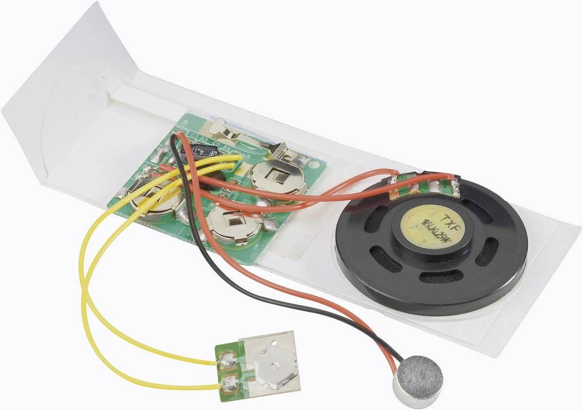Geluidsregistratiemodule Module 4.5 V/DC Opnametijd 10 s (Leuk voor valentijn) kopen