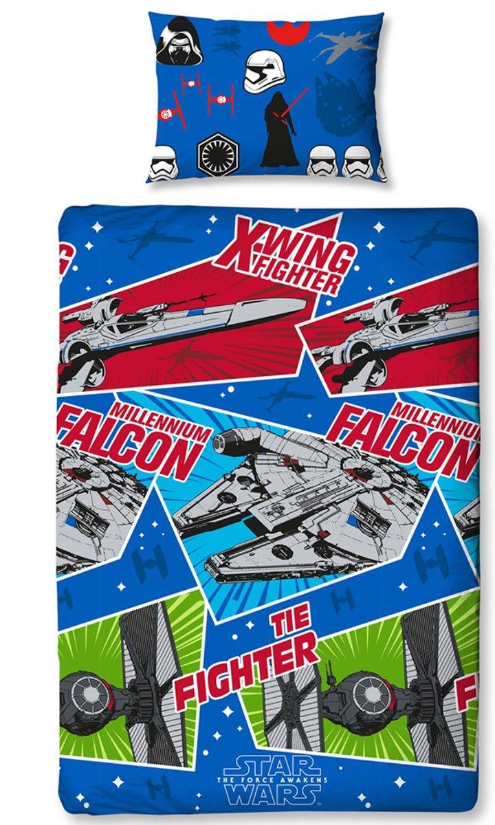 Star Wars Crafts Dekbedovertrek - Eenpersoons - 135x200 cm - Multi kopen