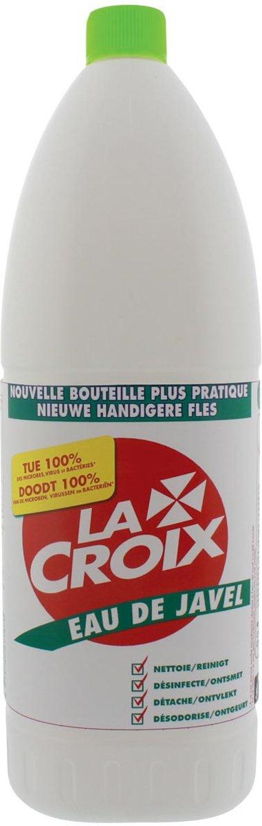 14x La Croix bleekwater, flacon van 1,5 liter kopen