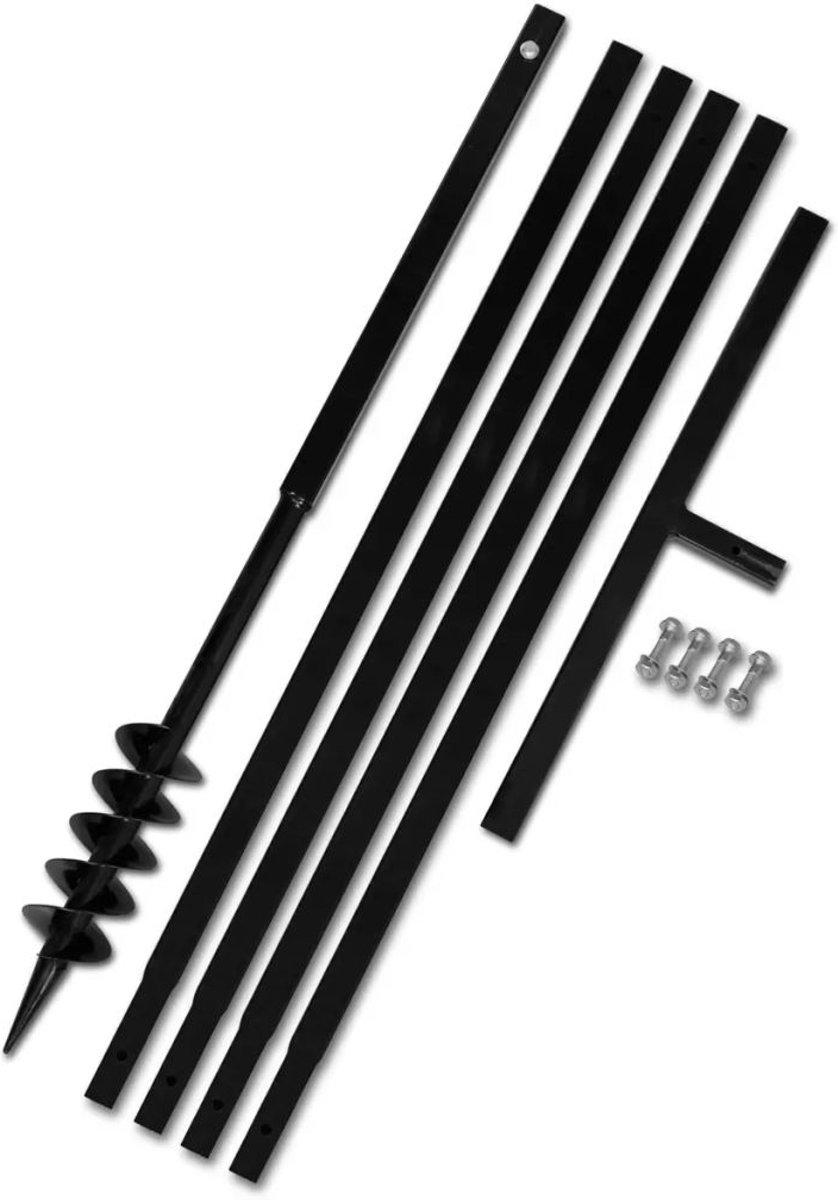 Grondboor 80 mm met 5 m verlengstuk Staal (incl. tyraps) kopen