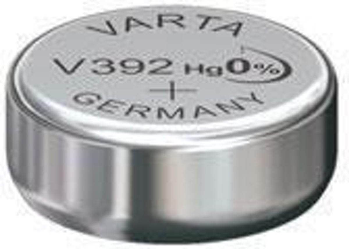 Varta horlogebatterij V392 zilveroxide