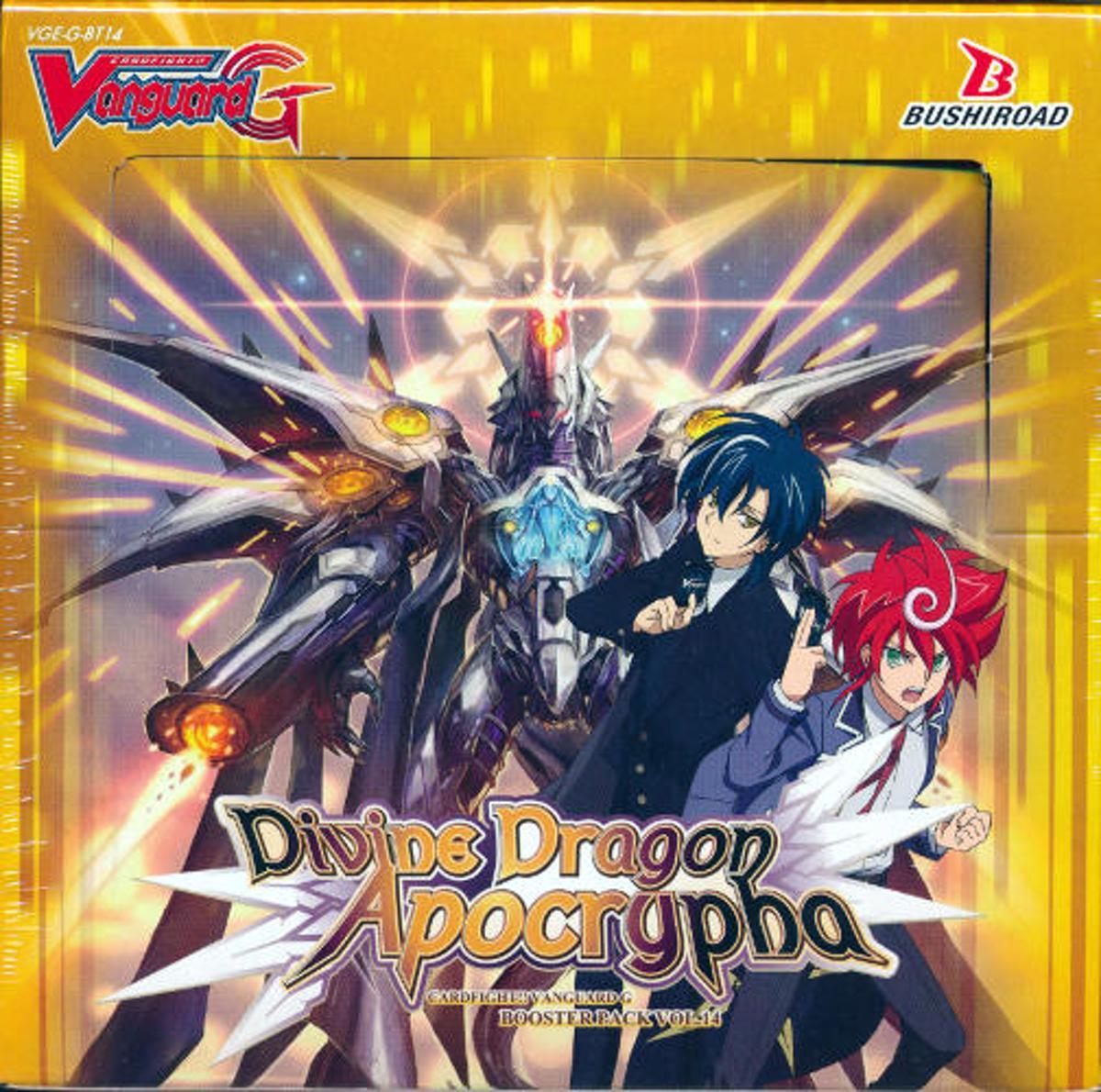 Vanguard: Divine Dragon Apocrypha Booster Display