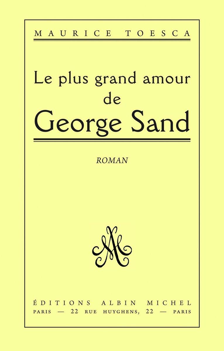 Grand Amour De George Sand