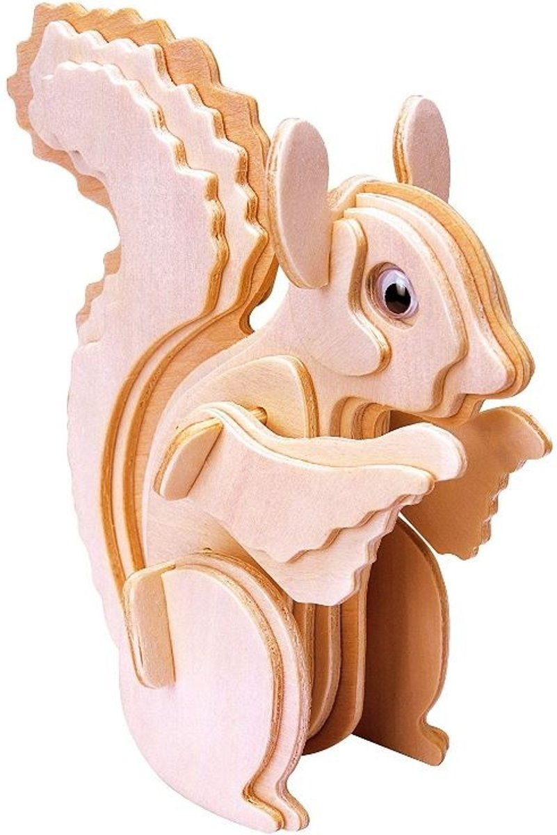 Gepettos Eekhoorn 3D puzzel kopen