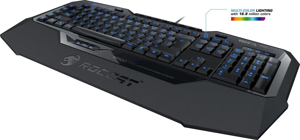 Roccat Isku FX Qwerty Gaming Toetsenbord - Zwart (PC)
