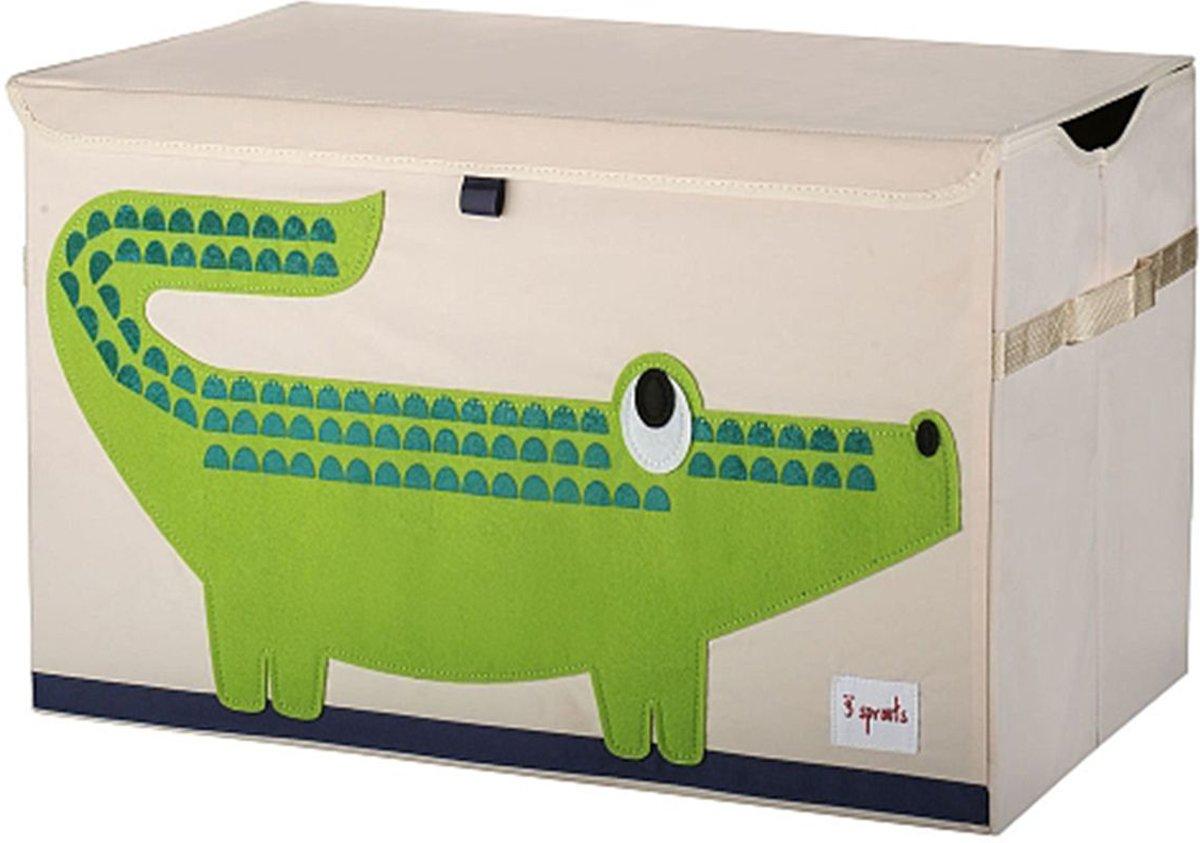 3 Sprouts Speelgoedkist Krokodil