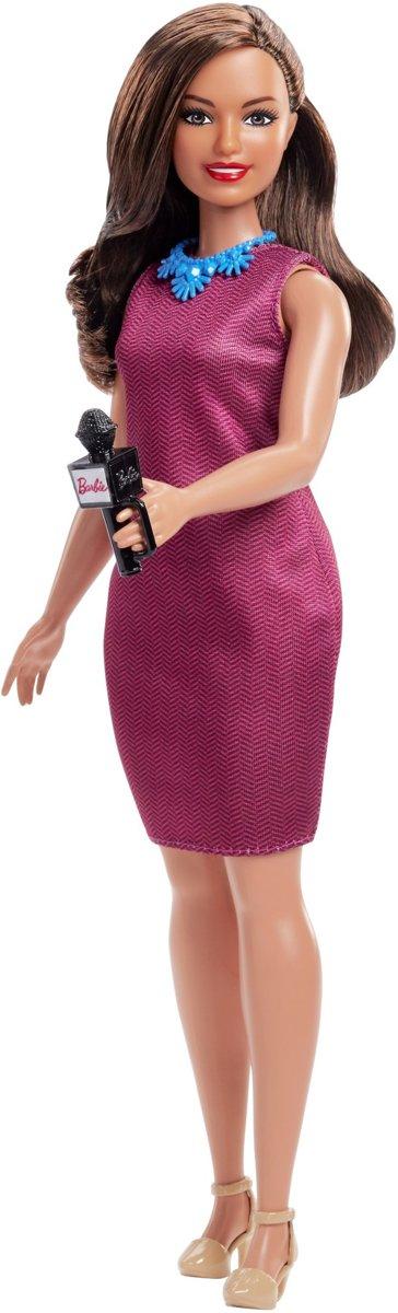 Barbie Careers Nieuwslezeres - Barbiepop