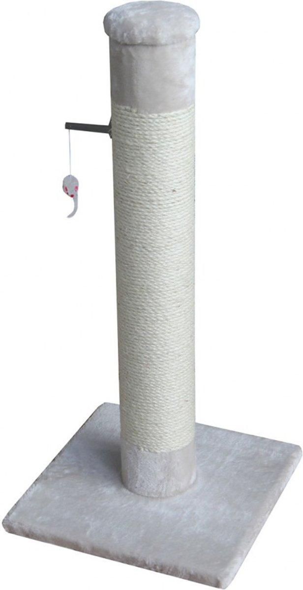Ebi Classic Tree Post Krabpaal - Crème - 38 x 38 x 80 cm