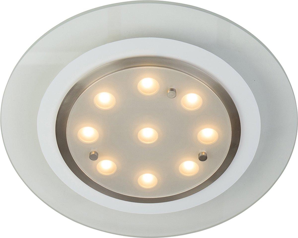 Steinhauer Lampen Onderdelen : Bol steinhauer ceiling plafondlamp led staal vierkant