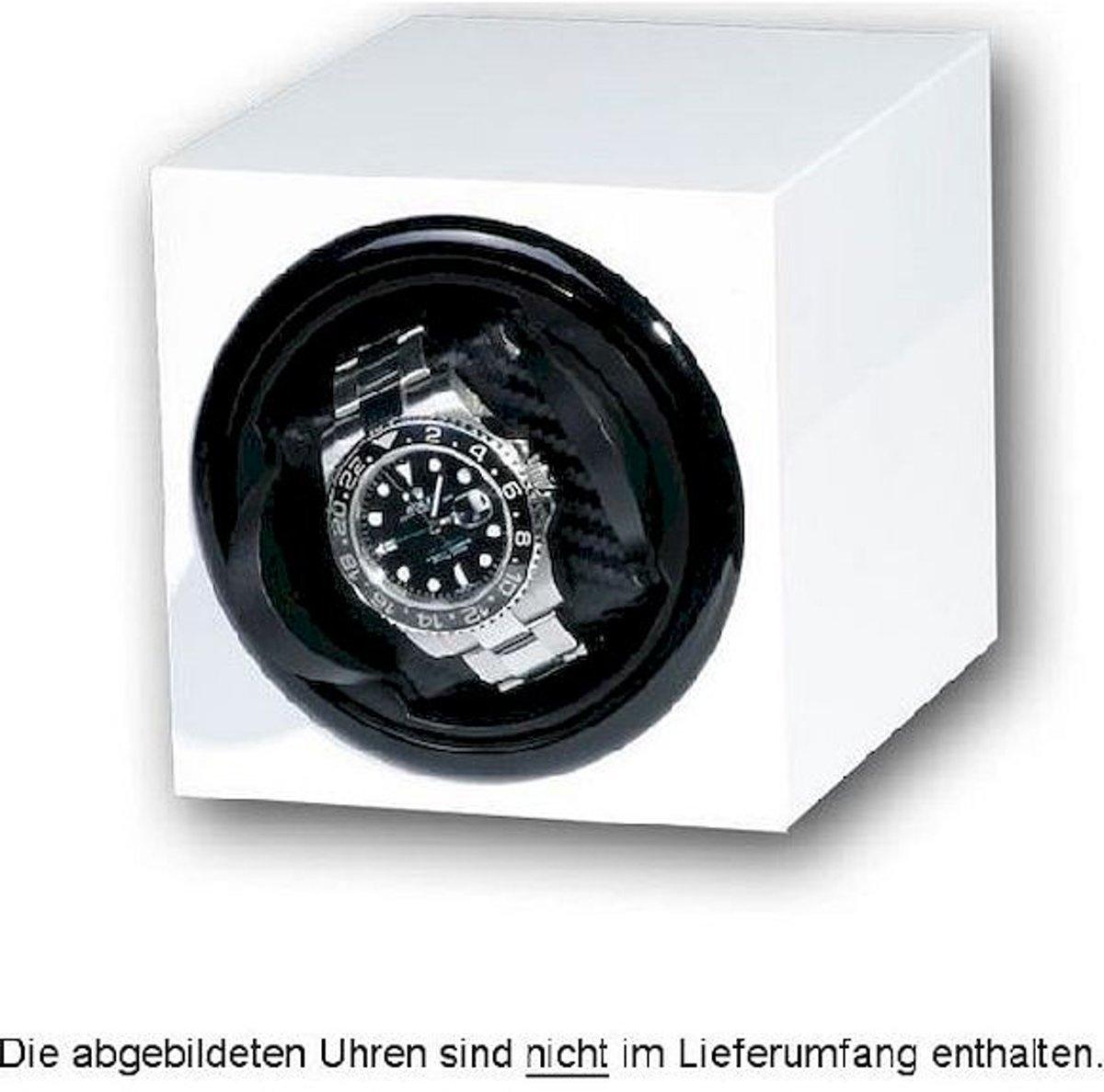 Portax Watchwinder Prismo 1 Uhr Klavierlack weiß 1002370 kopen