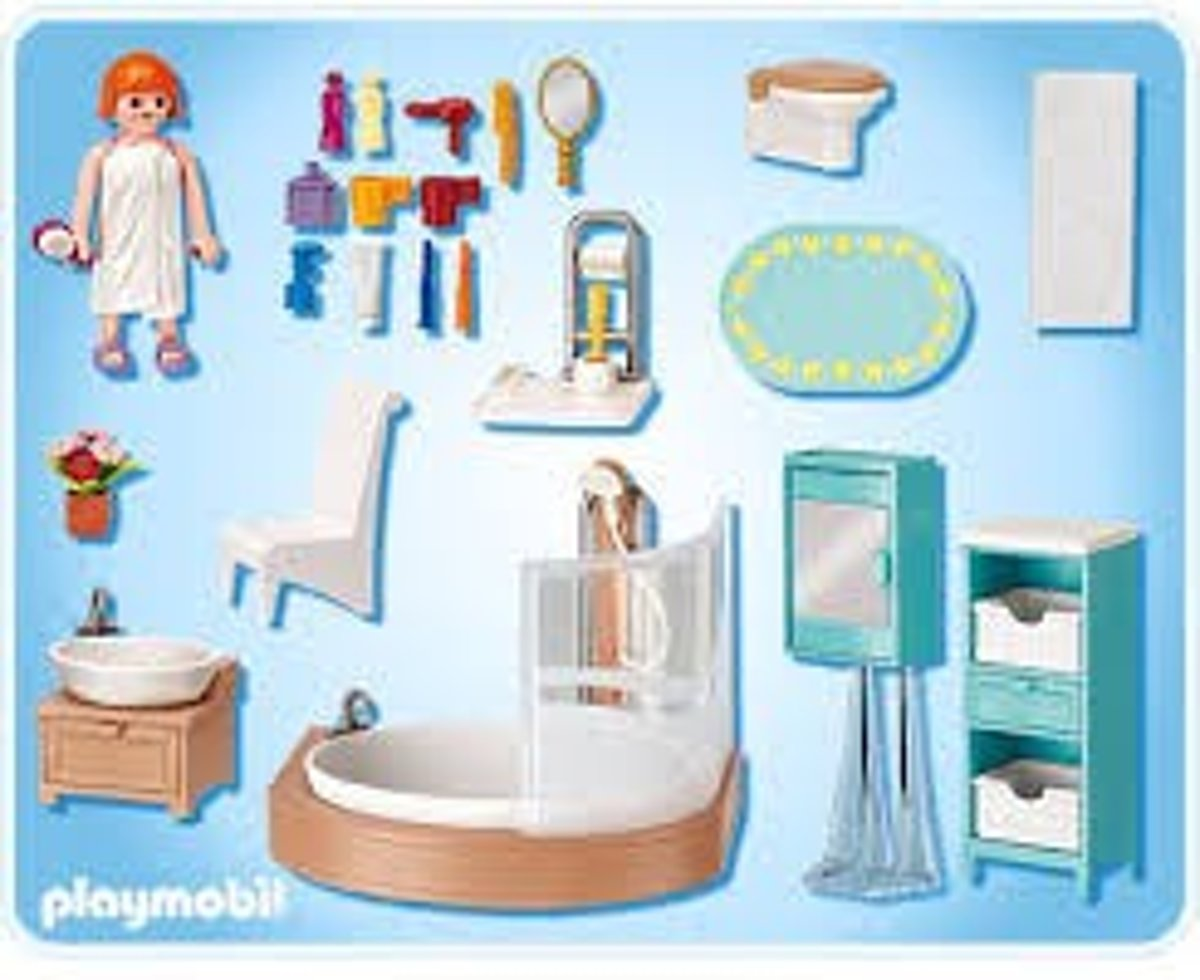 bol.com | Playmobil Badkamer - 5330, PLAYMOBIL | Speelgoed