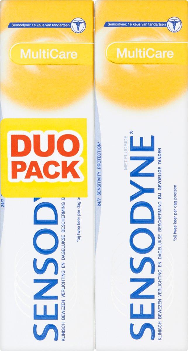 bol.com | Sensodyne Multicare - 2x 75 ml - Tandpasta