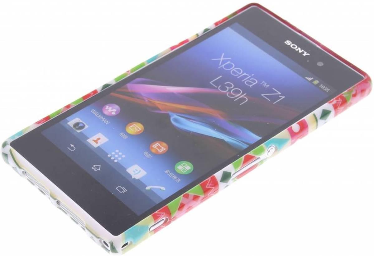 Etui En Silicone Tpu Design Pour Aztec Sony Xperia Z1 2sRlj