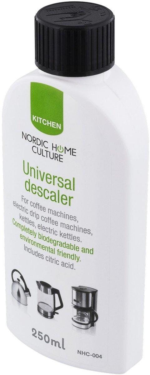 NORDIC HOME CULTURE NHC-004, Universele ontkalker, koffiezetapparaat, koffiezetapparaat, waterkoker, wit kopen