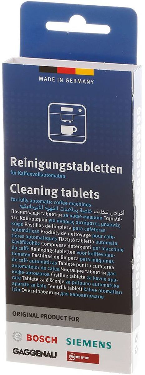 Bosch/Siemens Reinigingstabletten voor koffievolautomaten - 10 stuks kopen