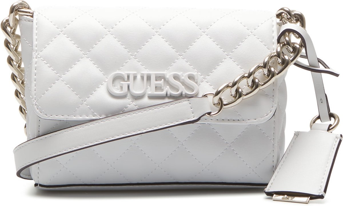 | Guess Handtassen Elliana Mini Crossbody Flap Wit