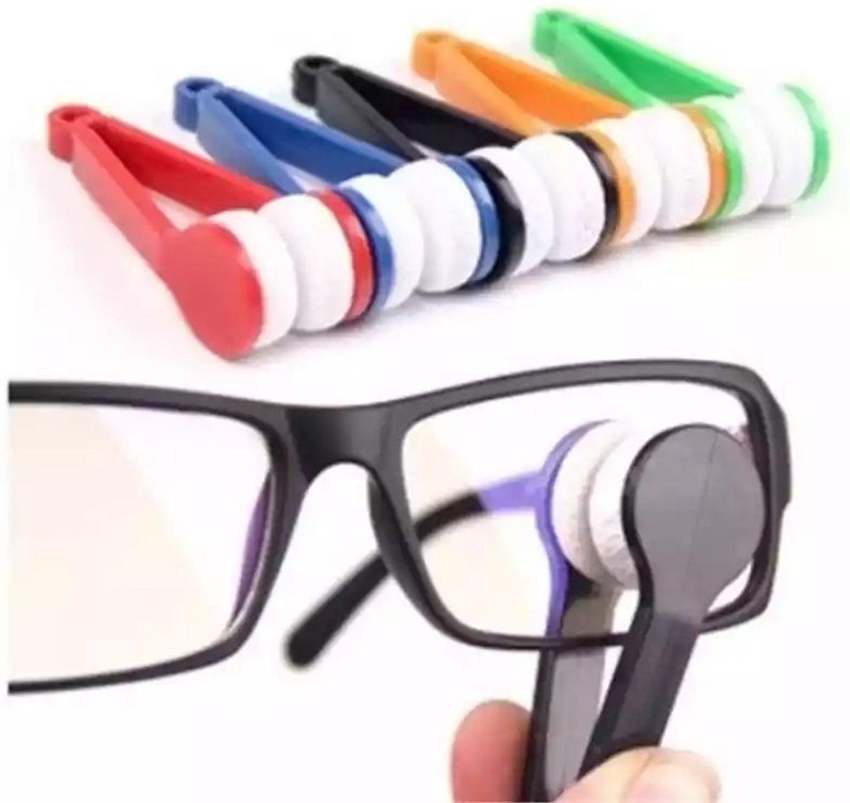 Tweezijdige brillendoekje | Microvezel brillendoekje | Binnen en buitenkant van de glazen tegelijk reinigen kopen