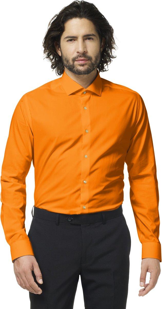 Feestelijk Overhemd.Opposuits The Orange Overhemd Voor Heren Oranje Zakelijke En