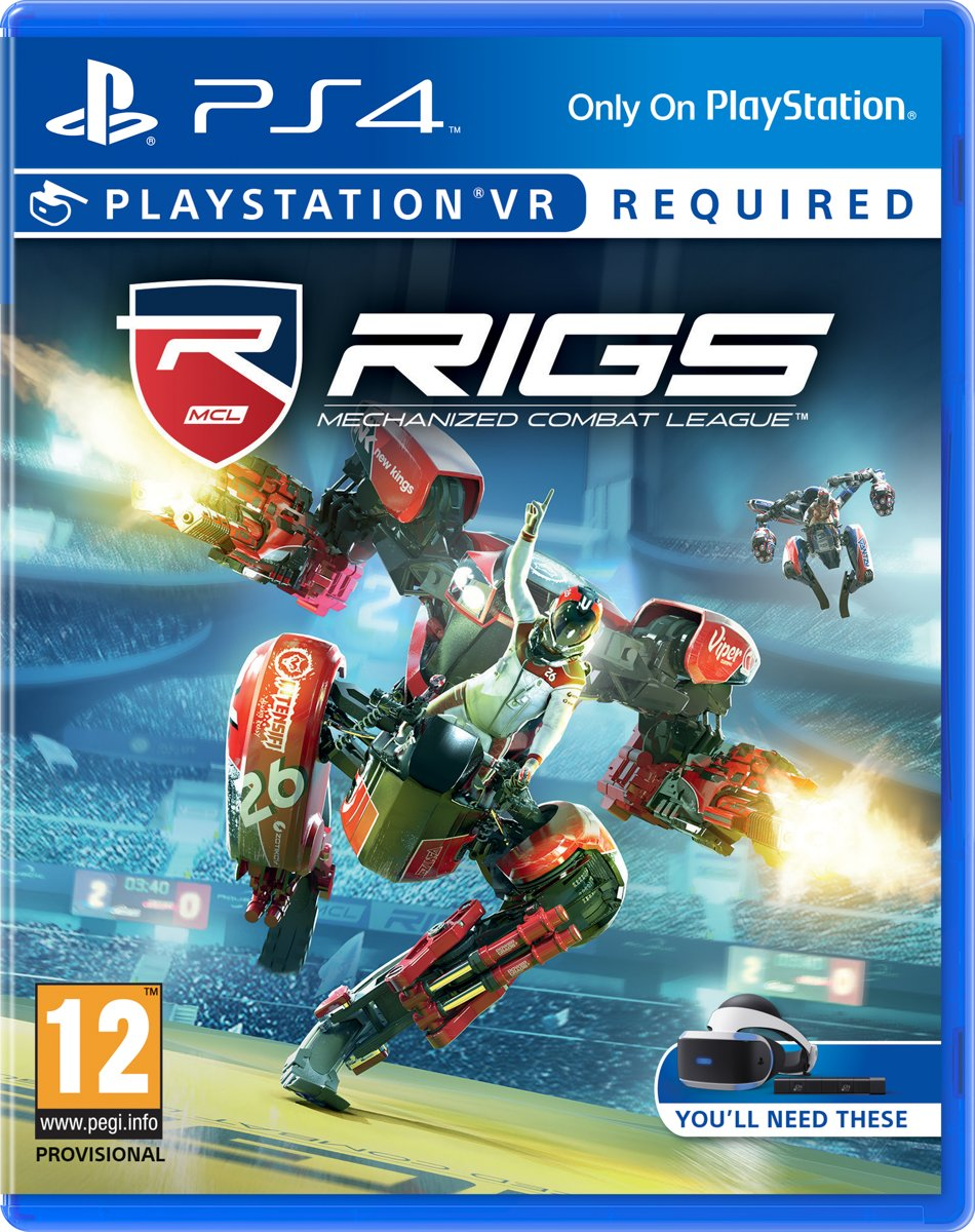 RIGS: Mechanized Combat League -  VR PlayStation 4