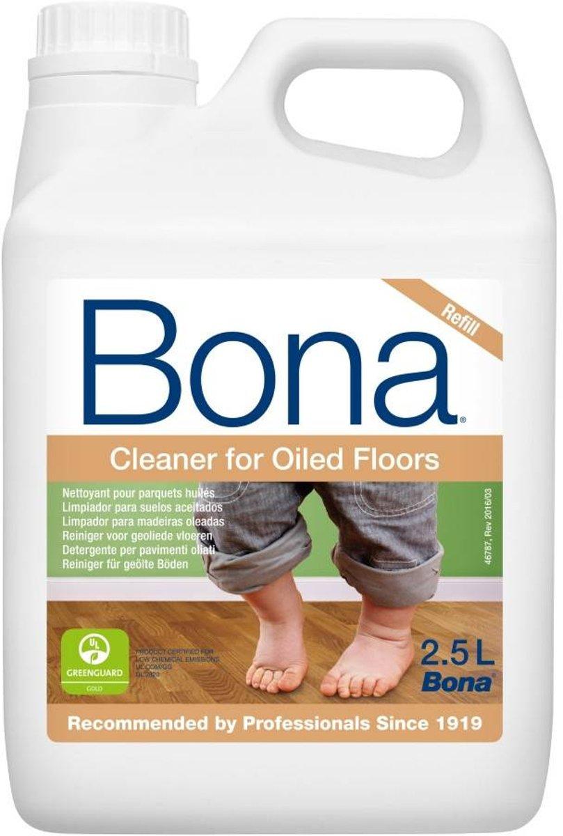 Bona Houten Vloer Reiniger Olie Navulling - 2,5 liter kopen