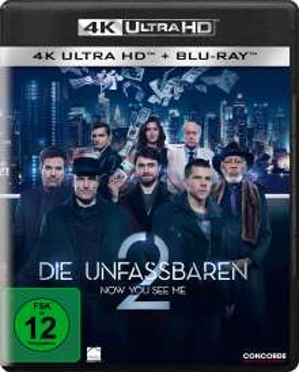 Now You See Me 2 (2016) (Ultra HD Blu-ray & Blu-ray)-