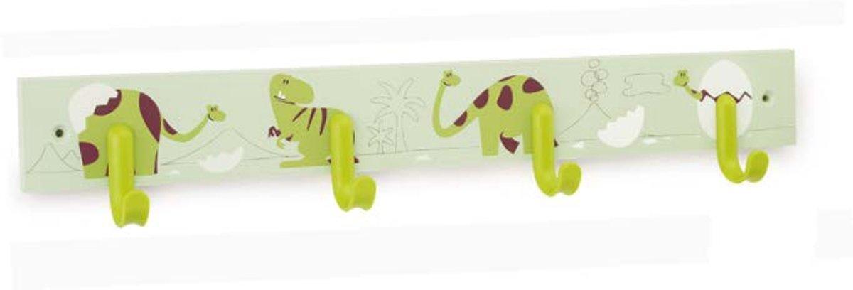 Kinder kapstok - Dinosaurus groen